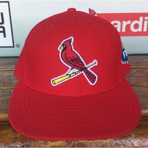 Photo of Cardinals Authentics: Jeremy Hazelbaker 2016 Spring Training Cap