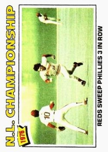 Photo of 1977 Topps #277 NL Championship/Pete Rose