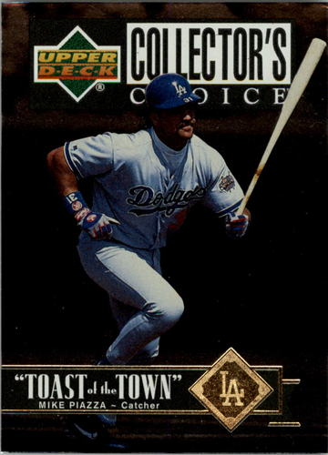 Photo of 1997 Collector's Choice Toast of the Town #T15 Mike Piazza
