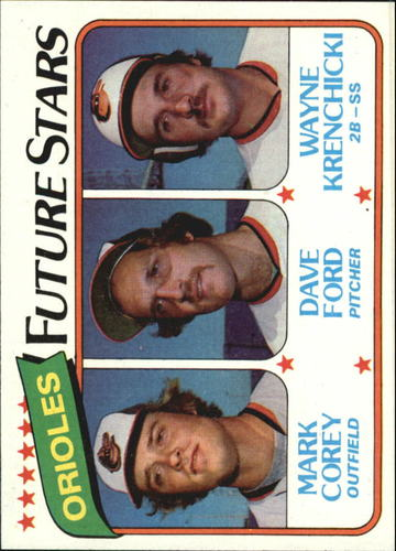 Photo of 1980 Topps #661 Mark Corey/Dave Ford RC/Wayne Krenchicki RC