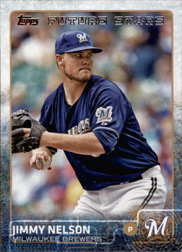 Photo of 2015 Topps #539 Jimmy Nelson FS