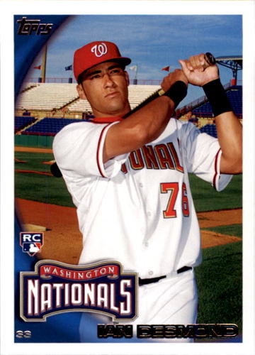 Photo of 2010 Topps #196 Ian Desmond (RC)