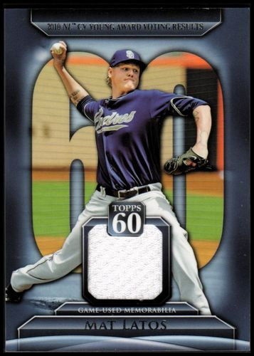 Photo of 2011 Topps 60 Relics #ML Mat Latos S2