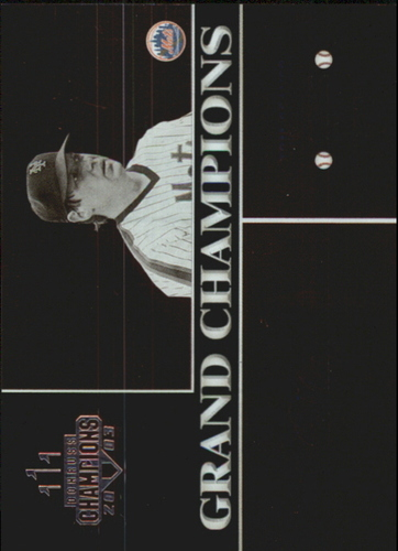 Photo of 2003 Donruss Champions Grand Champions Metalized #18 Tom Seaver #d 045/100 Mets