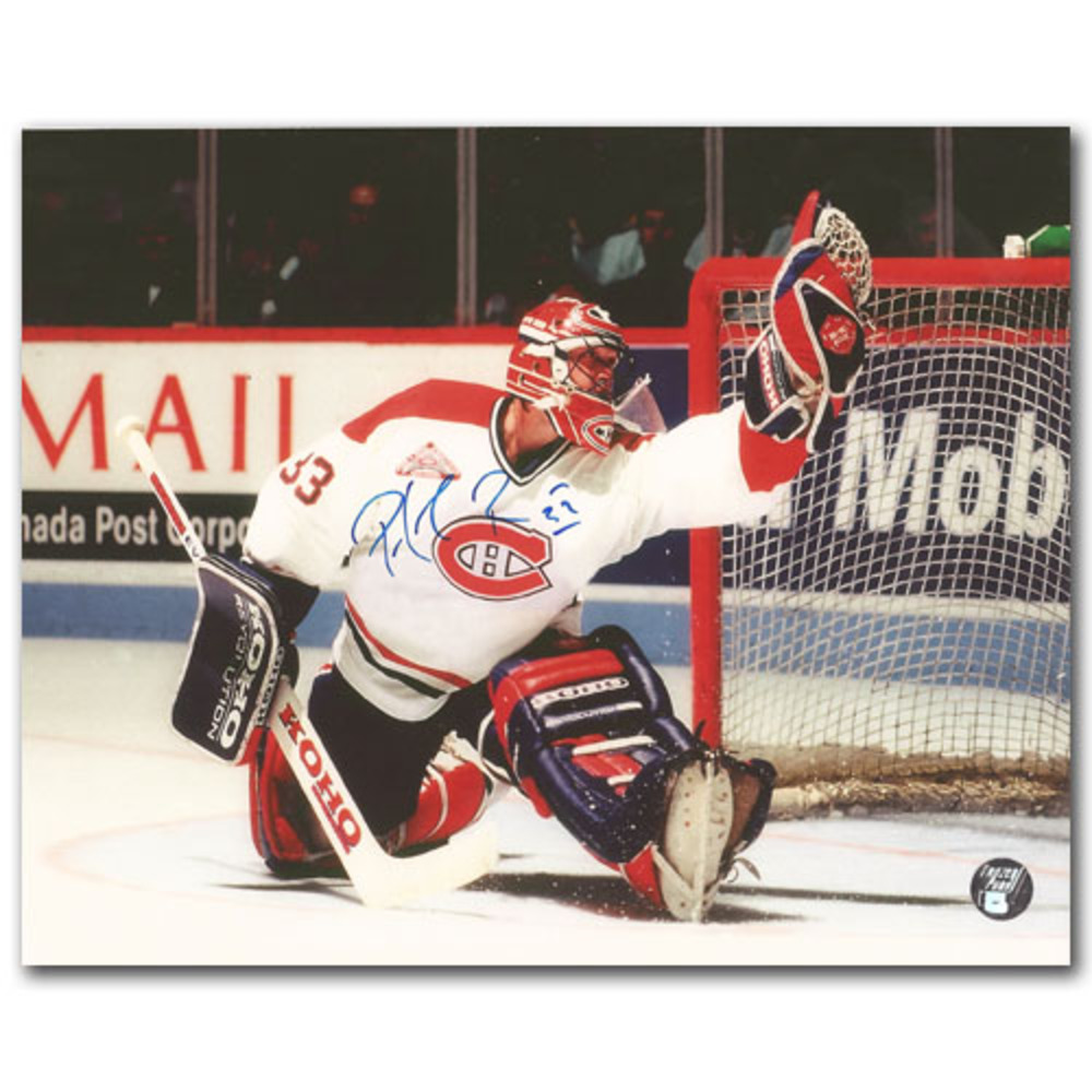 Patrick Roy Autographed Montreal Canadiens 8X10 Photo