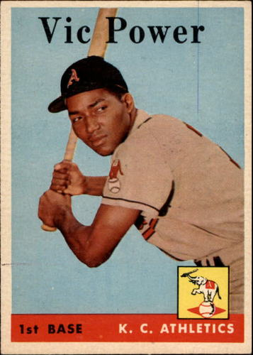 Photo of 1958 Topps #406 Vic Power