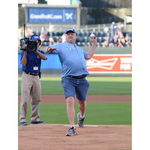 Photo of Royals Charities - Throw Out a First Pitch at the Sunday, April 16, 2017 Royals Game