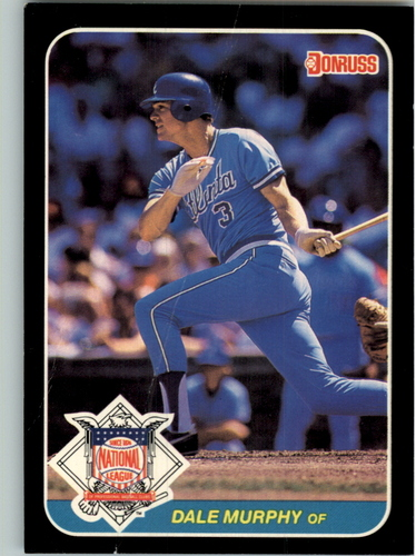 Photo of 1987 Donruss All-Stars #14 Dale Murphy