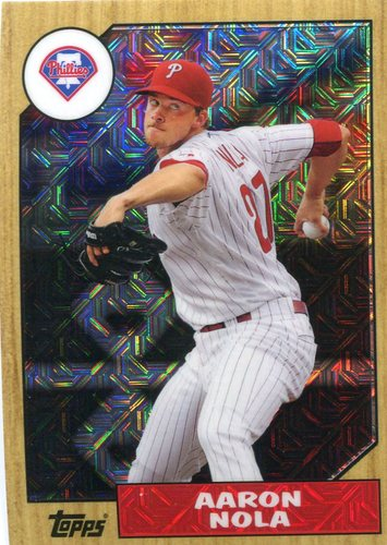 Photo of 2017 Topps '87 Topps Silver Pack Chrome #87AN Aaron Nola