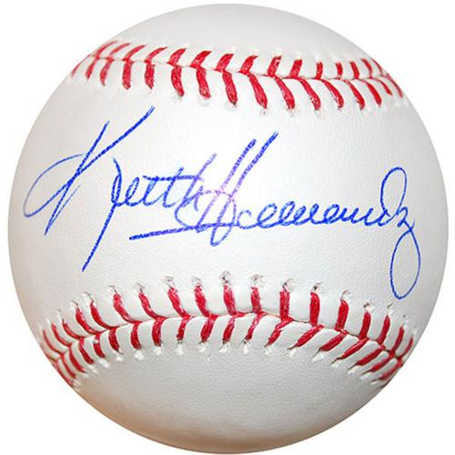 Cardinals Authentics: Keith Hernandez Autographed Baseball