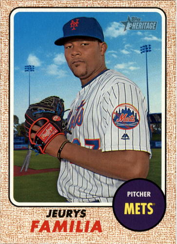 Photo of 2017 Topps Heritage #278 Jeurys Familia