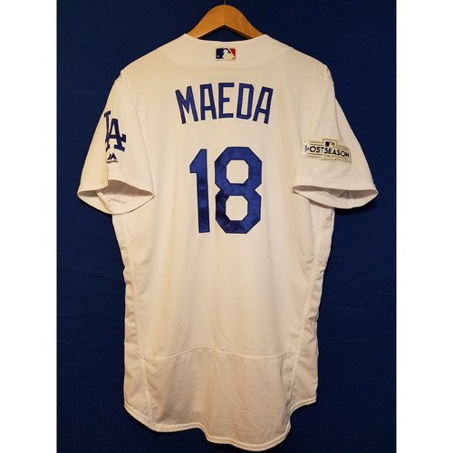 Photo of Kenta Maeda Home 2017 Team-Issued Post Season Jersey