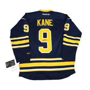 Evander Kane #9 PLAYER KITZ Signature Series Premier Replica Stitched Signature Buffalo Sabres Home Jersey