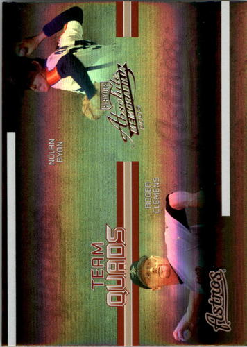 Photo of 2005 Absolute Memorabilia Team Quads Spectrum #12 Houston Astros