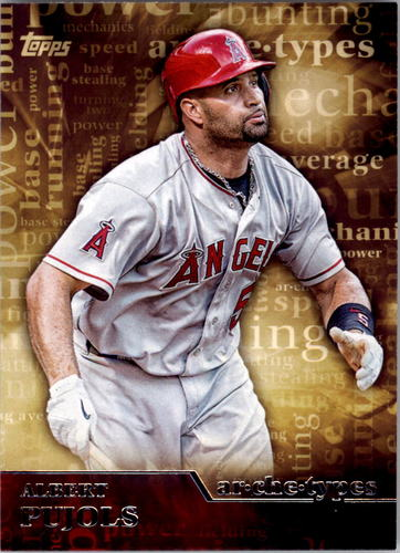 Photo of 2015 Topps Archetypes #A19 Albert Pujols
