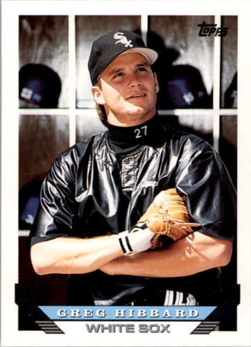 Photo of 1993 Topps #313 Greg Hibbard