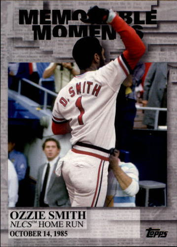 Photo of 2017 Topps Memorable Moments #MM12 Ozzie Smith