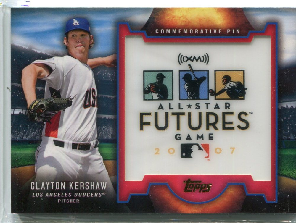 2016 Topps Futures Game Pins  Clayton Kershaw