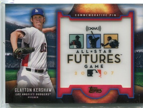 Photo of 2016 Topps Futures Game Pins  Clayton Kershaw