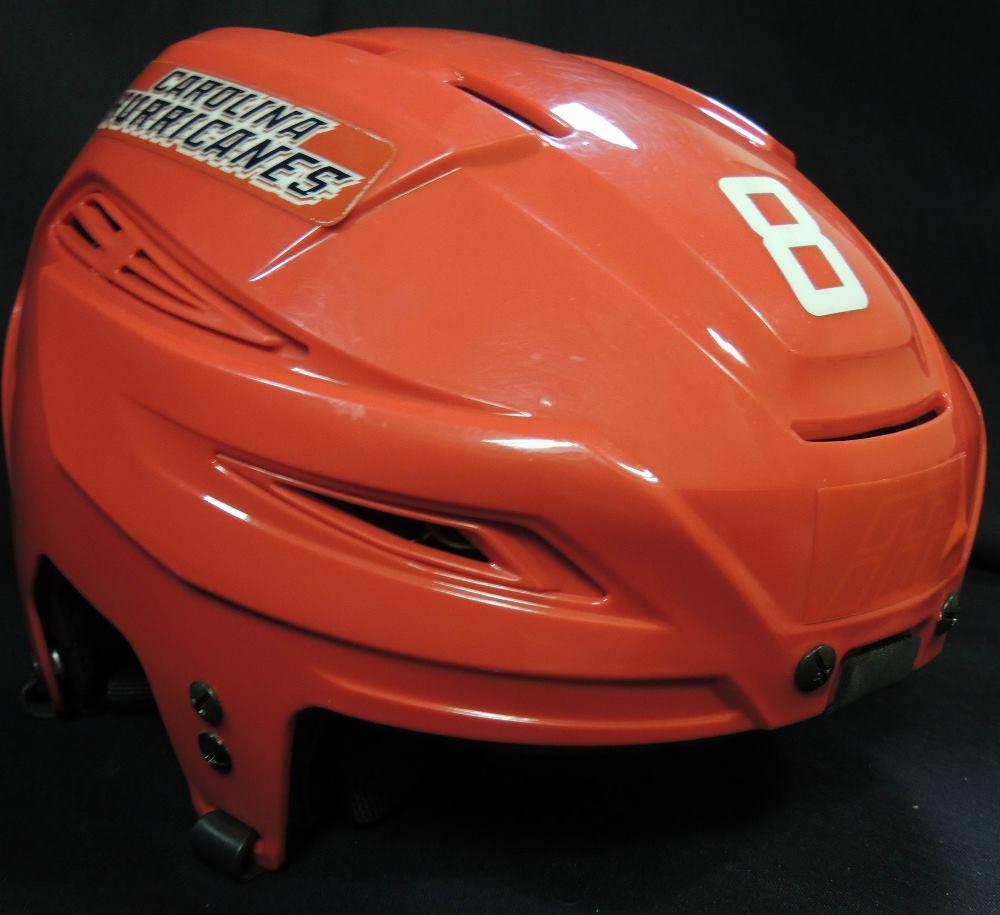 Carolina Hurricanes Autographed Andrei Loktionov #8 Helmet