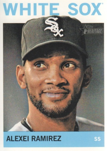 Photo of 2013 Topps Heritage #352 Alexei Ramirez