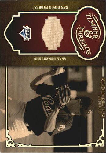 Photo of 2005 Donruss Timber and Threads Bat #36 Sean Burroughs