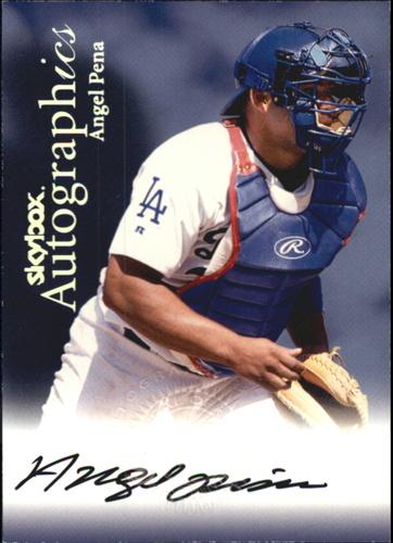 Photo of 2000 SkyBox Autographics #102 Angel Pena