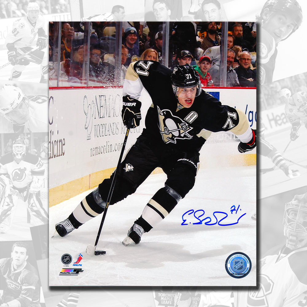 Evgeni Malkin Pittsburgh Penguins Rush Autographed 16x20