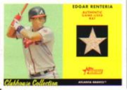 Photo of 2007 Topps Heritage Clubhouse Collection Relics #ER Edgar Renteria Bat C