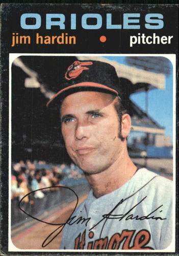 Photo of 1971 Topps #491 Jim Hardin