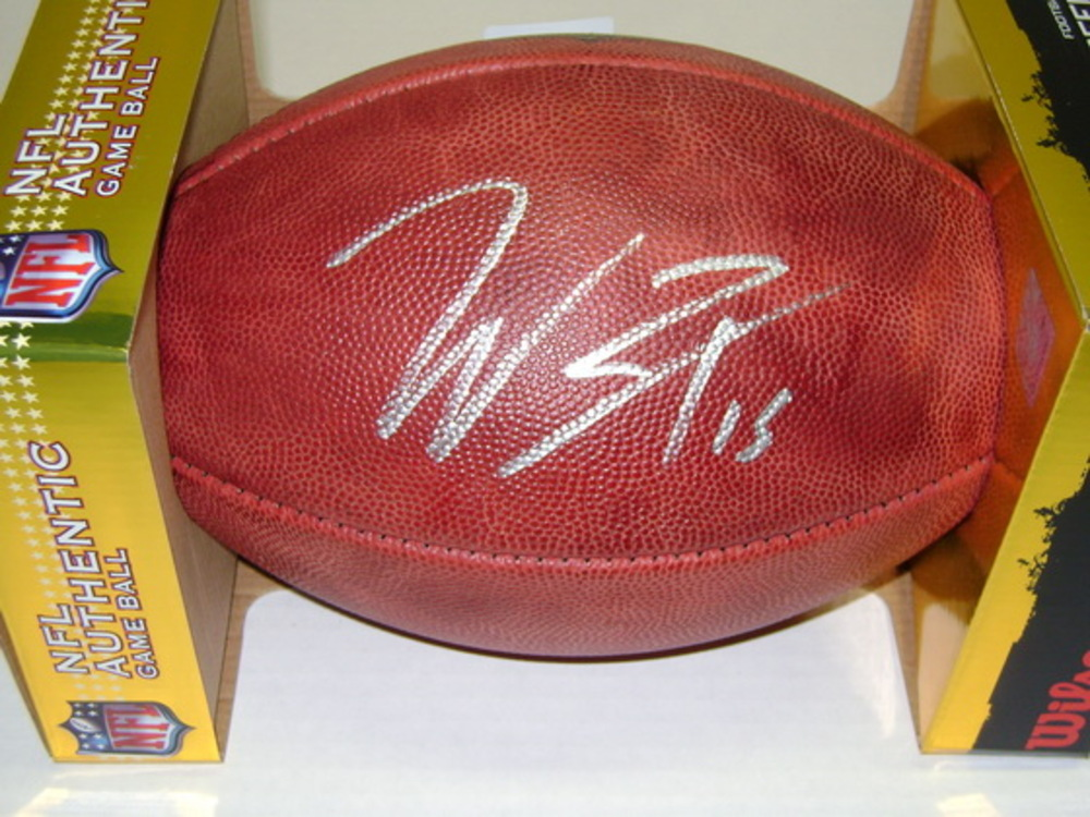NFL - TEXANS WILL FULLER SIGNED AUTHENTIC FOOTBALL