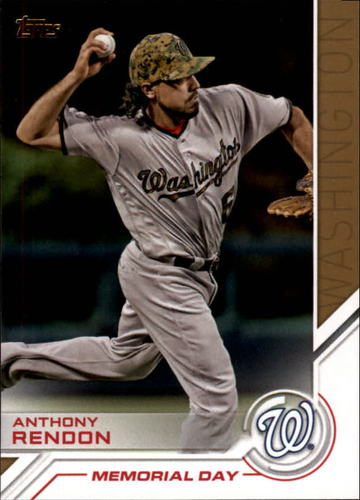 Photo of 2017 Topps Salute #S33 Anthony Rendon