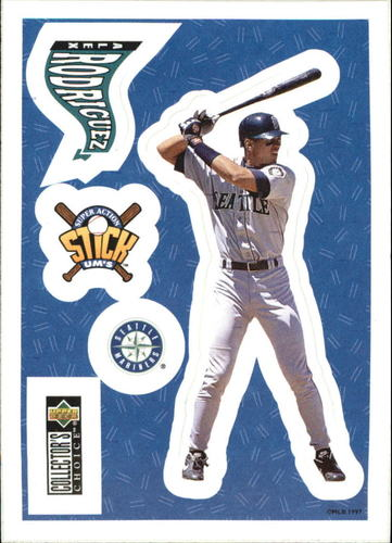 Photo of 1997 Collector's Choice Stick'Ums #3 Alex Rodriguez