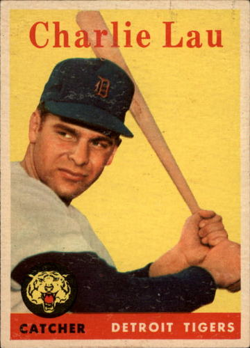 Photo of 1958 Topps #448 Charlie Lau RC