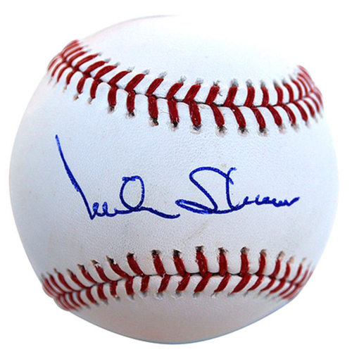 Photo of Cardinals Authentics: Mike Shannon Autographed Baseball
