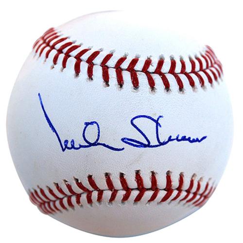 Cardinals Authentics: Mike Shannon Autographed Baseball