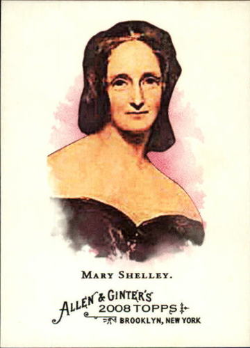 Photo of 2008 Topps Allen and Ginter #158 Mary Shelley