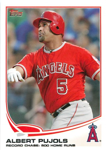 Photo of 2013 Topps #266 Albert Pujols
