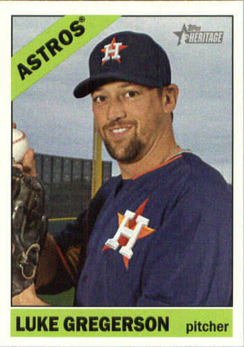 Photo of 2015 Topps Heritage #669 Luke Gregerson