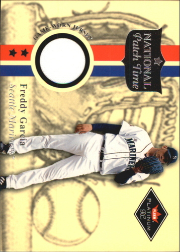 Photo of 2001 Fleer Platinum National Patch Time #16 Freddy Garcia White S1