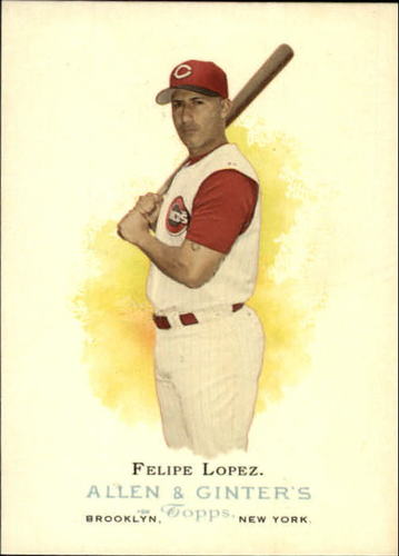 Photo of 2006 Topps Allen and Ginter #117 Felipe Lopez