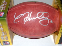 NFL - JETS CHRISTIAN HACKENBERG SIGNED AUTHENTIC FOOTBALL