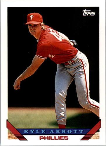 Photo of 1993 Topps #317 Kyle Abbott
