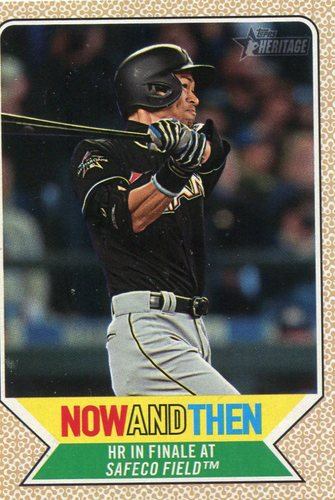 Photo of 2017 Topps Heritage Now and Then #NT9 Ichiro