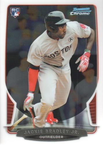 Photo of 2013 Bowman Chrome #89 Jackie Bradley Jr. Rookie Card -- Red Sox post-season