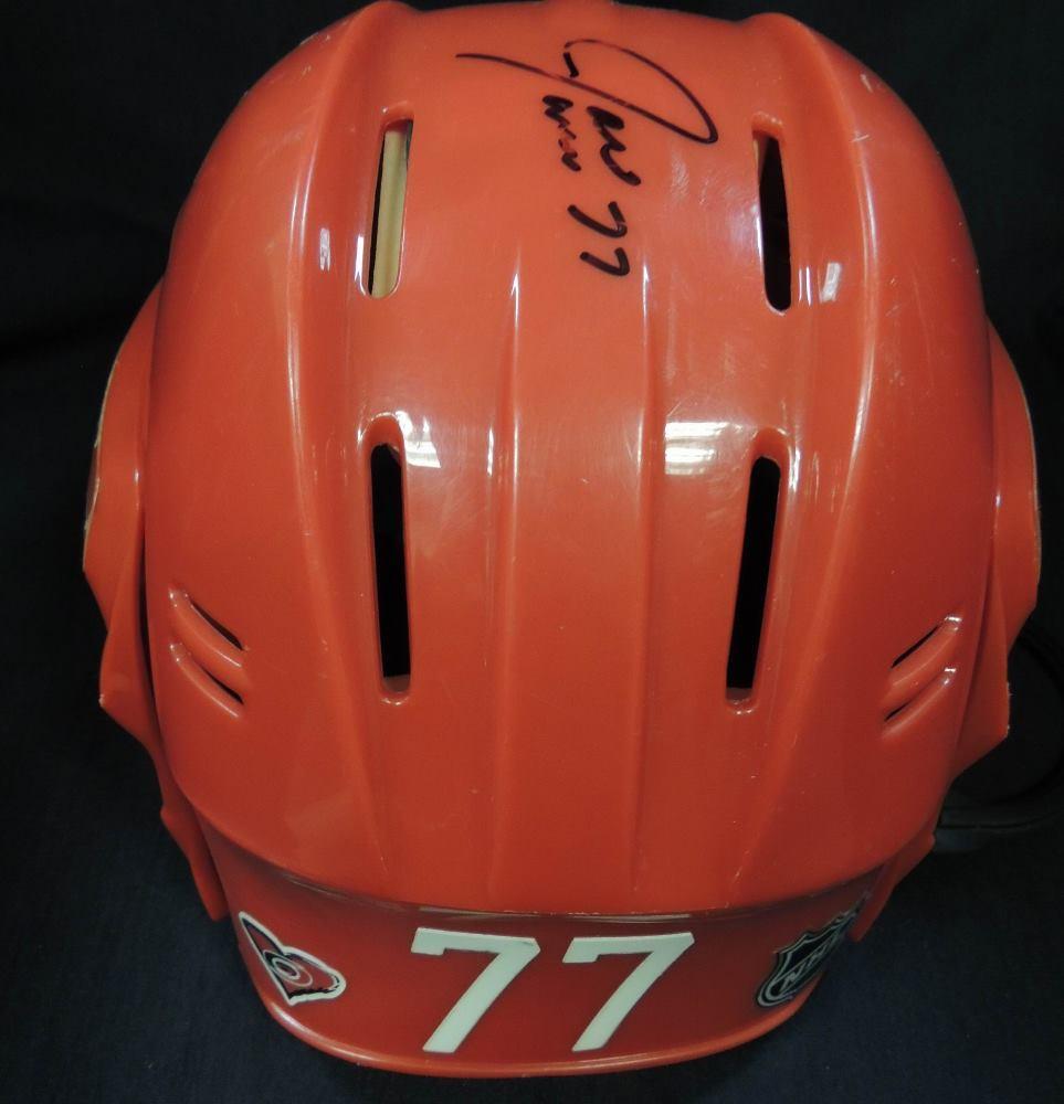 Carolina Hurricanes Autographed Joe Corvo #77 Helmet