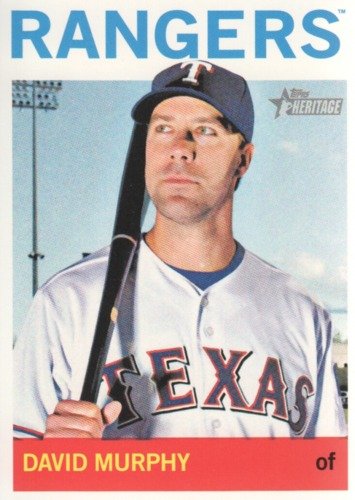 Photo of 2013 Topps Heritage #153 David Murphy