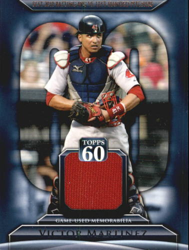 Photo of 2011 Topps 60 Relics #VM Victor Martinez