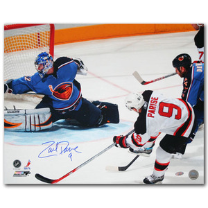 Zach Parise Autographed New Jersey Devils 16X20 Photo