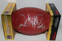 HOF - PATRIOTS ANDRE TIPPETT SIGNED AUTHENTIC FOOTBALL